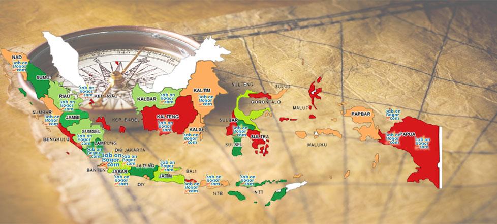 Penyebaran konsumen, dari Barat hingga Timur Indonesia
