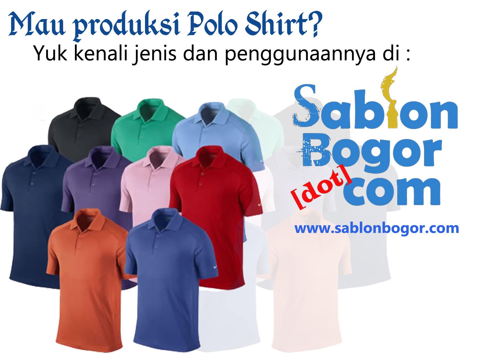 Mengenal jenis dan penggunaan bahan Polo Shirt