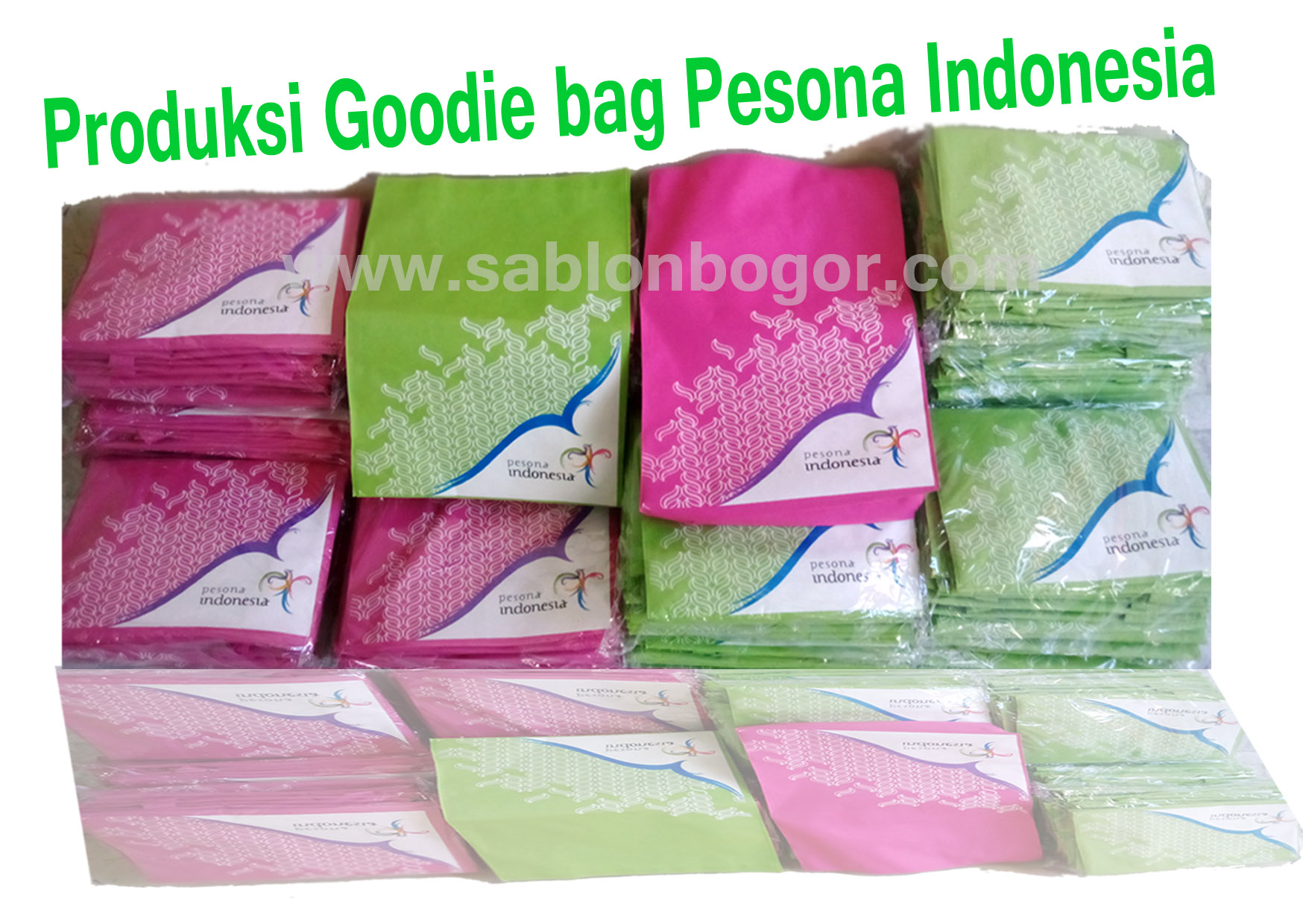 Produksi Goodie Bag Pesona Indonesia